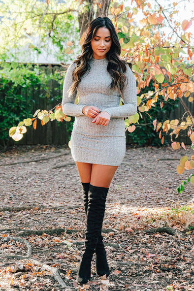 November Rain Sweater Dress
