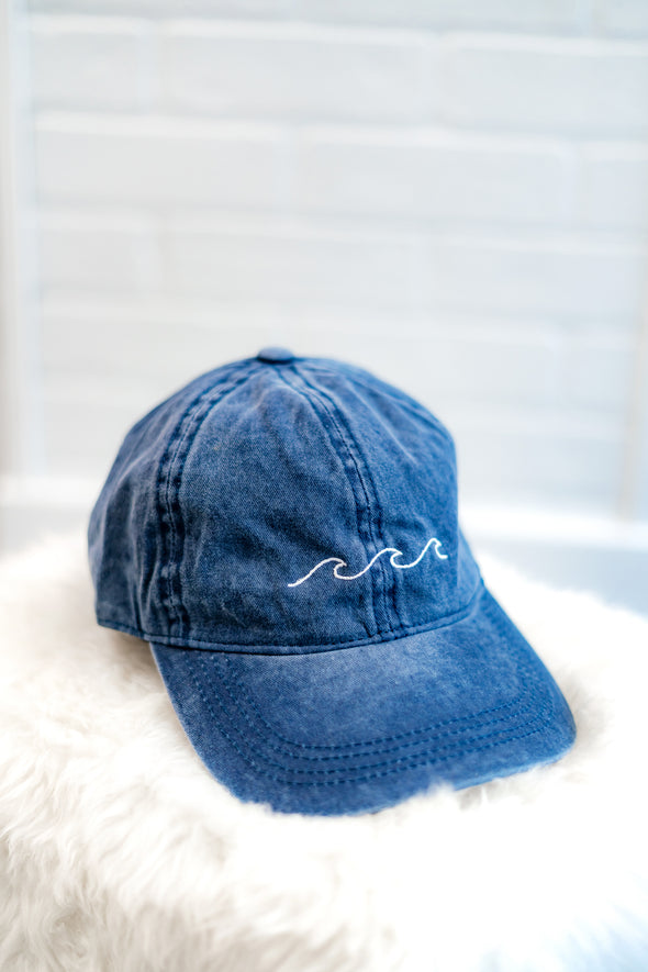Ocean Wave Dad Hat