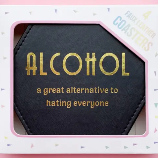 Alcohol Coaster (Pack Of 4)
