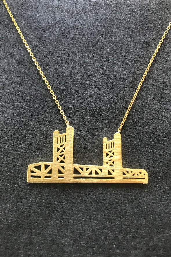 Tower Bridge 1 Necklace