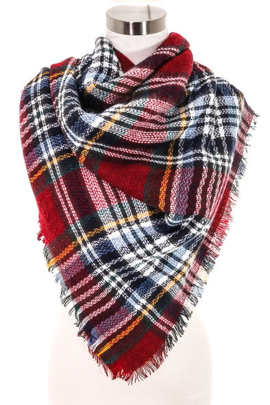 Truckee Plaid Scarf