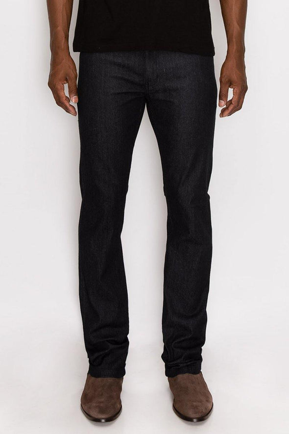 Black Wash Raw Denim - Identity Boutique