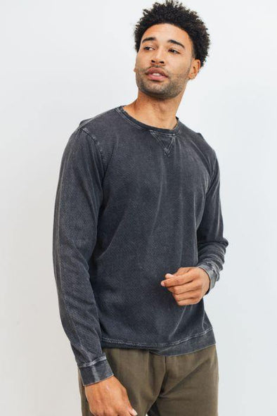 Dylan Mineral Wash Pullover