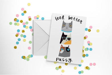 Feel Better P***y Card