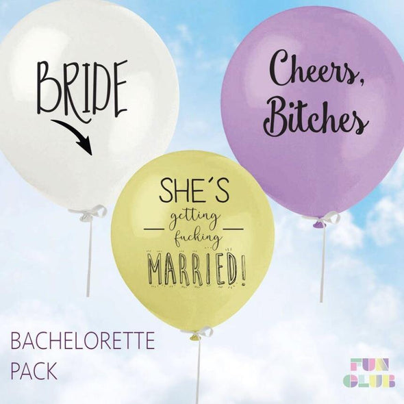 Bachelorette Balloon Pack (Pack Of 3)