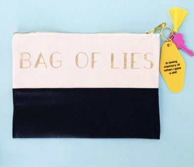 Bag Of Lies Make-Up Bag