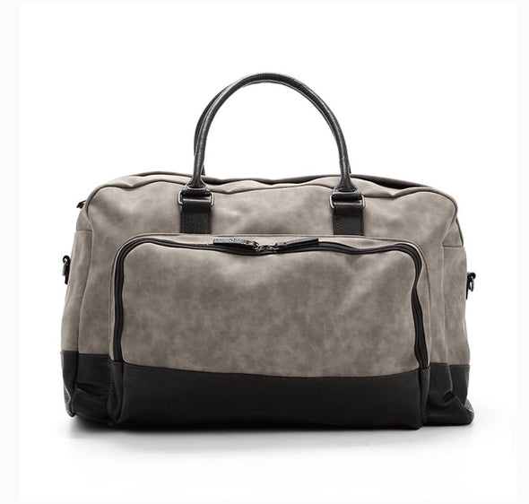 Marcel Grey Two Tone Duffel Bag