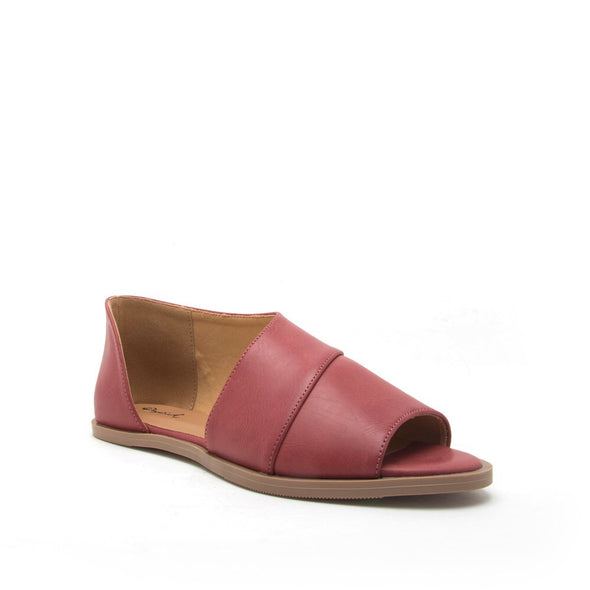 Sting Open Toe Terra Cotta Slipper