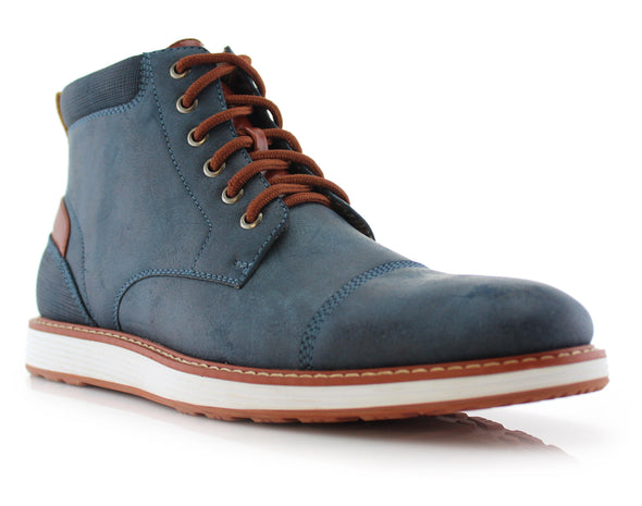 Birt Blue Boots - Identity Boutique