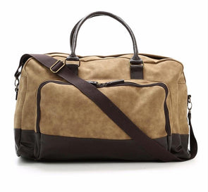 Marcel Brown Two Tone Duffle Bag