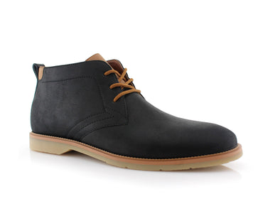 Marvin Black Low Ankle Boots