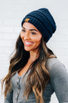 Rounded Simple Knit Beanie