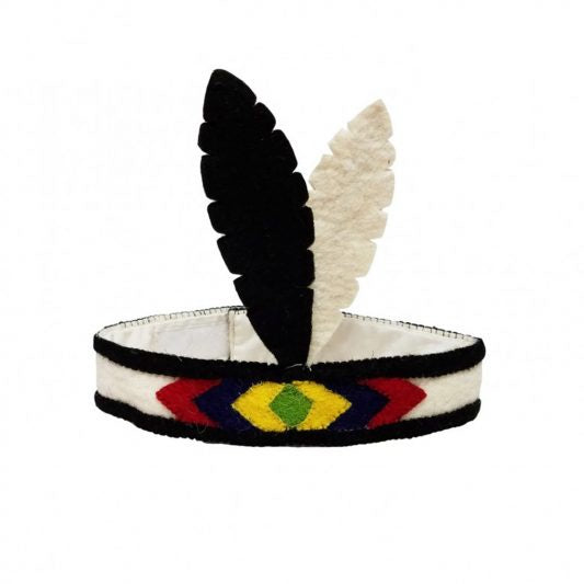 Felt Feather Squaw Headdress