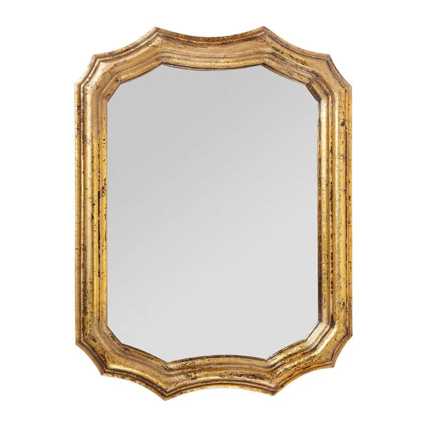 Antique Gold Baroco Mirror