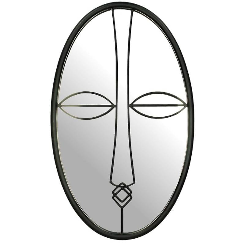 Oval Face Mirror