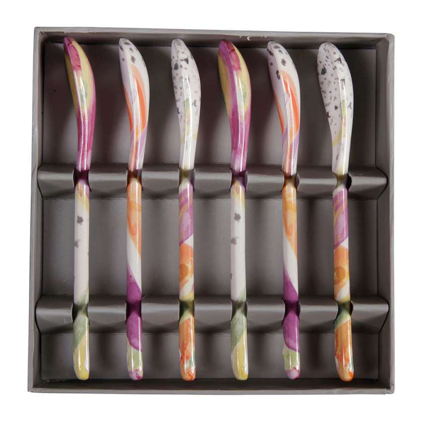 Passion-box ceramic Spoons
