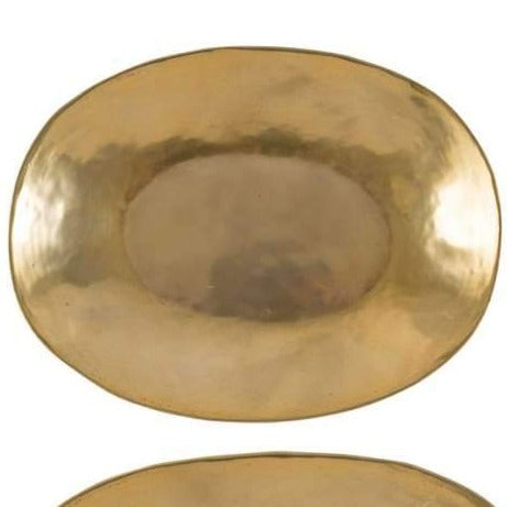Oval Gold Trays
