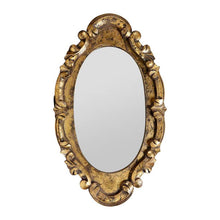 Load image into Gallery viewer, Oval Baroque Mirror