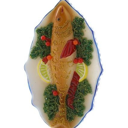 Fish Dinner Ornament