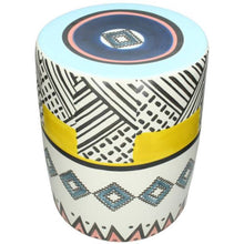 Load image into Gallery viewer, Street Art Earthenware Stool