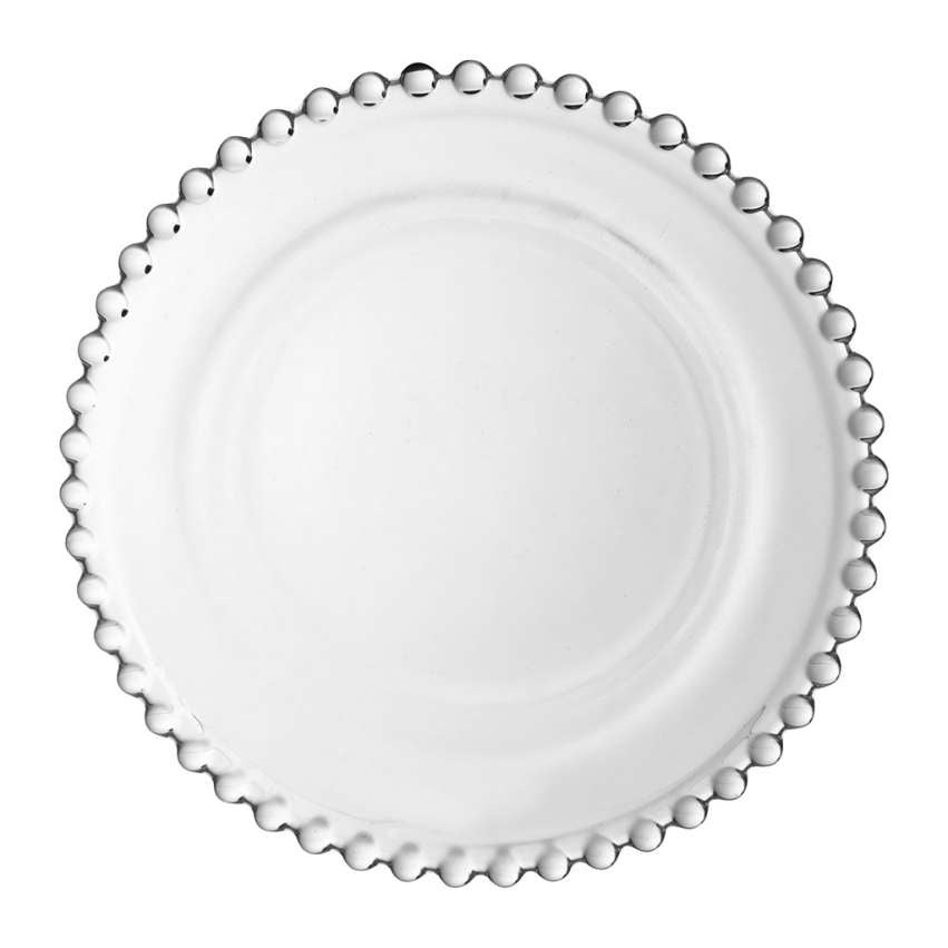 Pearl Glass Side Plate