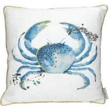 Load image into Gallery viewer, Blue Crab Cushion