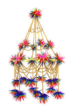 Load image into Gallery viewer, Beaded Pajaki Chandelier-Rainbow