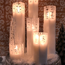 Load image into Gallery viewer, White Spider Web Candles