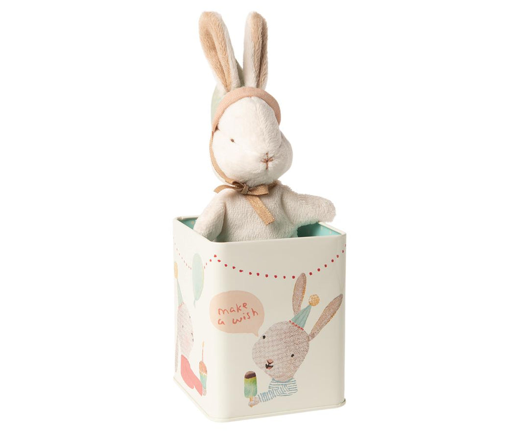 Happy Day Bunny In A Tin