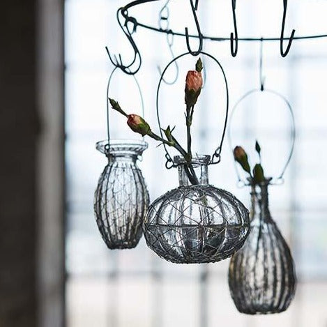 Hanging Glass Onion Vase