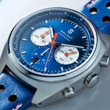 Load image into Gallery viewer, Soldat Automatic Chronograph 'True Blue'