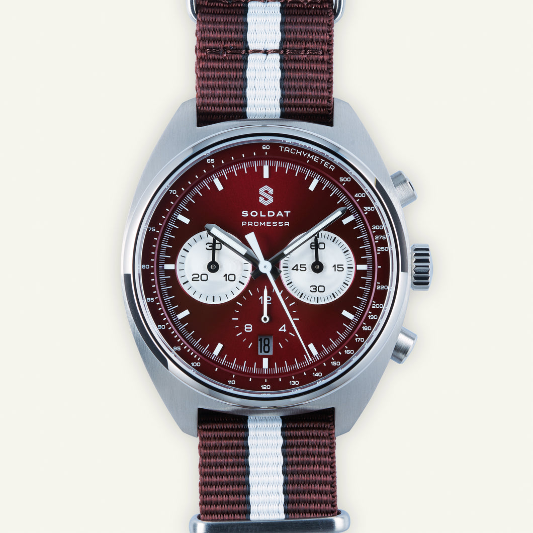 Soldat Automatic Chronograph 'Red Comet'