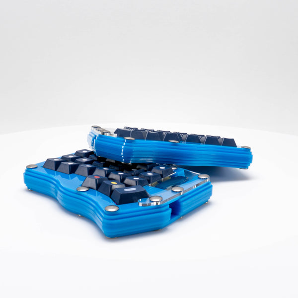 Corne Acrylic Gasket Mount Keyboard Case
