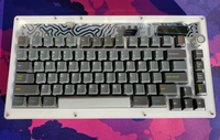 LCK75 Acrylic Keyboard Case (LYSOL Version)