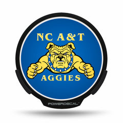 North Carolina A&T POWERDECAL® + Lens