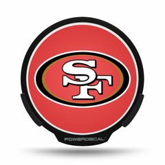 San Francisco 49ers POWERDECAL® + Lens