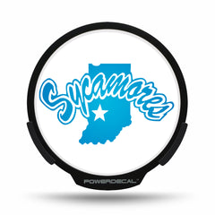 Indiana State POWERDECAL® + Lens