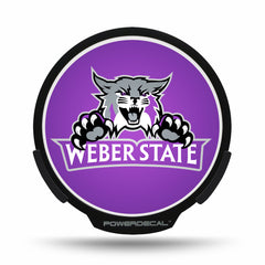 Weber State POWERDECAL® + Lens