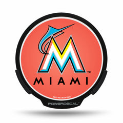 Miami Marlins POWERDECAL® + Lens