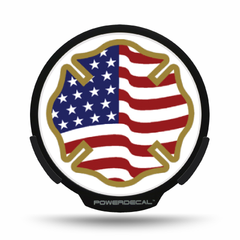 American Wave Flag Maltese POWERDECAL® + Lens