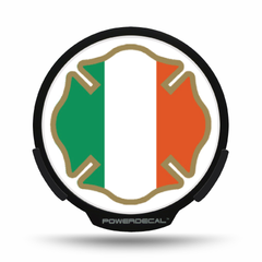 Irish Flag Maltese POWERDECAL® + Lens