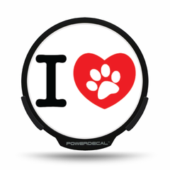 Dog Love POWERDECAL® + Lens