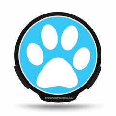 Paw Print POWERDECAL® + Lens