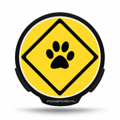 Pet on Board POWERDECAL® + Lens