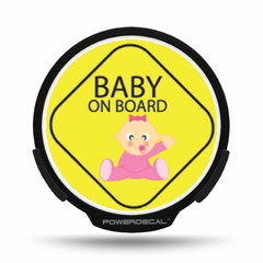 Baby on Board POWERDECAL® + Lens
