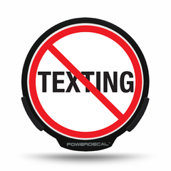 No Texting POWERDECAL® + Lens