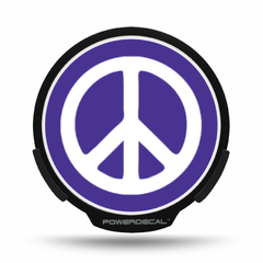 Peace Sign POWERDECAL® + Lens