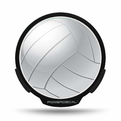 Volleyball POWERDECAL® + Lens