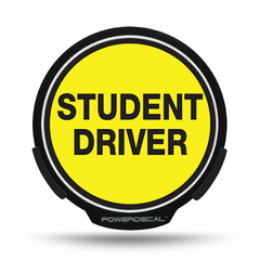 Student Driver POWERDECAL® + Lens