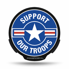 Support Our Troops POWERDECAL® + Lens